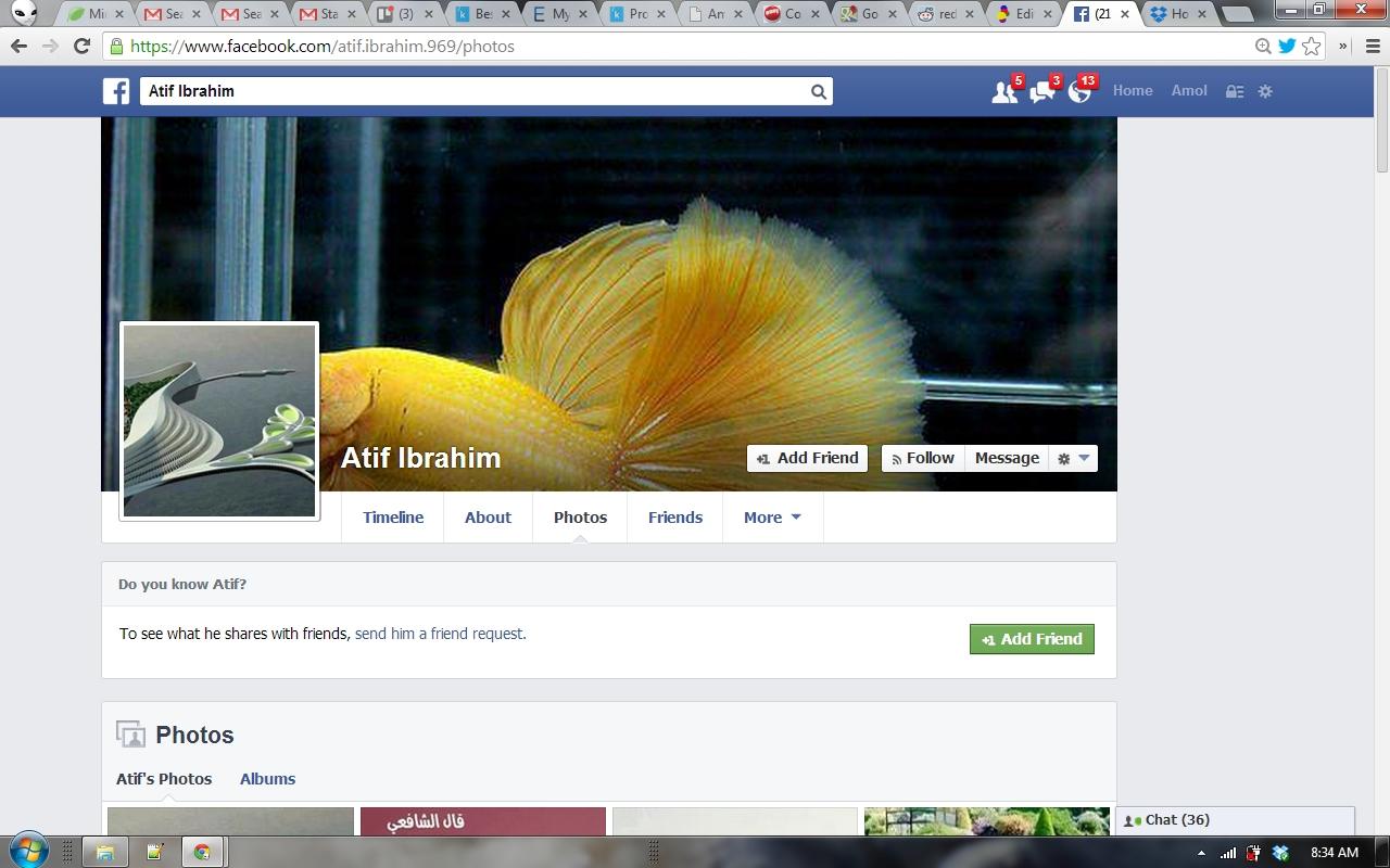 Atif Ibrahim Facebook 1
